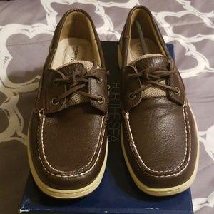Sperry Shoes - Bluefish 2 Rye Brn DeerSkin Sperrys